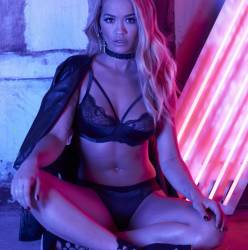 Rita Ora see through Tezenis lingerie campaign 11x HQ photos