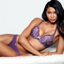 Chanel Iman sexy Victoria's Secret lingerie 2014 July 57x HQ
