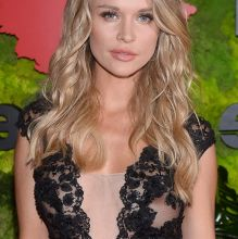 Joanna Krupa braless in see through dress nipple visible TVN Foundation Gala in Warsaw 12x UHQ photos