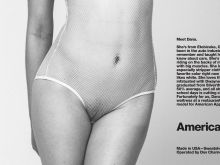 Dana Wright  see through American Apparel Photo Shoot 5x HQ
