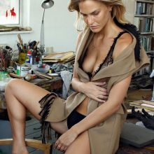 Bar Refaeli sexy lingerie for AT magazine photo shoot 2015 September 9x HQ