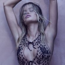 Frida Aasen hot see through lingerie For Love and Lemons Skivvies collection 2016 Spring 84x UHQ photos