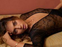 Ana De Armas pokies in see through bodysuit for GQ magazine 2016 August 7x UHQ photos