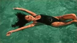 Shay Mitchell - Shaycation Greece sexy bikinis swimsuits bare ass video