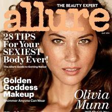 Olivia Munn nip slip Allure magazine 2014 May 7x MixQ