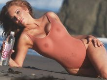 Angelica Bridges see through bodysuit photo shoot for 138 Water 2016 April 52x UHQ