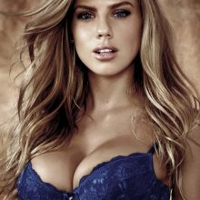 Charlotte McKinney big boobs in sexy lingerie for Guess Spring-Summer 2017 lingerie campaign 4x UUHQ