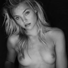 Rachel Hilbert topless Elliston Lutz photo shoot 5x HQ