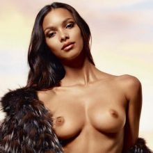 Lais Ribeiro nude for Lui Magazine 2014 July August 5x HQ