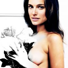 Natalie Portman nude art photoshoot UHQ