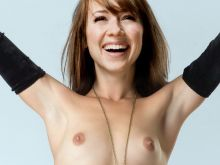 Karine Vanasse from Revenge nude photo UHQ