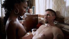 Shanola Hampton, Chloe Webb, etc - Shameless S07 E11 1080p topless nude scenes