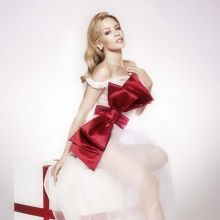 Kylie Minogue sexy Christmas album 2015 promos 8x UHQ