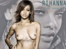 Rihanna topless on new single cover UHQ
