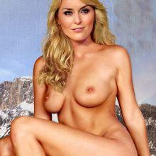 Lindsey Vonn nude Playboy magazine celebrity cover naked photo shoot UHQ