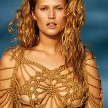 Toni Garrn topless for The Daily Summer's 2015 May-June 21x HQ