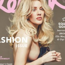 Ellie Goulding topless on Remix magazine cover HQ photo