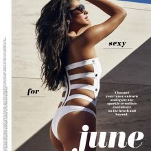 Shay Mitchell sexy swimsuits for Cosmopolitan 2016 June 9x HQ photos