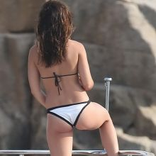 Danielle Campbell wearing sexy bikini on a yacht in Cabo San Lucas 55x UHQ photos
