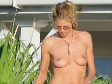 Heidi Klum topless at a beach in St Barts 52x MixQ