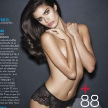 Sara Sampaio sexy topless GQ 2014 September 9x HQ