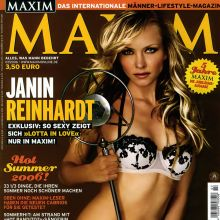 Janin Reinhardt topless Markus Amon photo shoot for Maxim 9x HQ