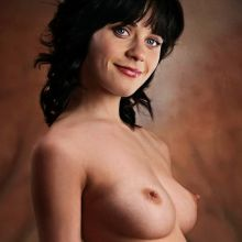 Zooey Deschanel from New Girl nude photo shoot UHQ
