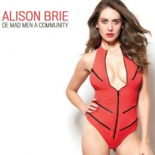 Alison Brie sexy GQ Mexico magazine 2015 March issue 2x HQ
