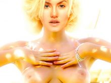 Elisha Cuthbert topless Vogue magazine cover photo shoot UHQ