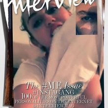 Miley Cyrus topless Interview Magazine 2015 September issue 7x MixQ
