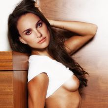 Natalie Portman topless photo shoot 2x UHQ