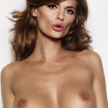 Stana Katic topless Esquire magazine cover photo shoot UHQ