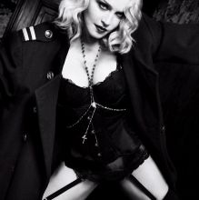 Madonna sexy see through lingerie for Harper's Bazaar February 2017 10x HQ photos
