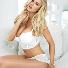 Charlotte McKinney sexy Guess 2015 lingerie 4x HQ