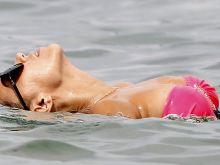 Sylvie Meis wearing sexy bikini in Saint-Tropez 28x UHQ