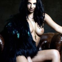 Amy Lee topless new album cover 2x HQ