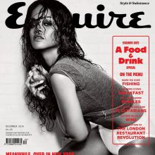Rihanna topless Esquire Magazine 2014 December 9x HQ