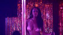 Xian Bass - Graves S01 E05 720p striptease topless scenes