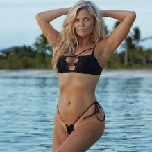 Christie Brinkley - Sports Illustrated Swimsuit 2017 bare ass tiny bikini 20x HQ photos