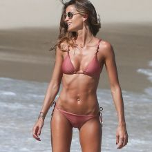 Izabel Goulart sexy bikini candids on the beach in St. Barts 40x HQ photos