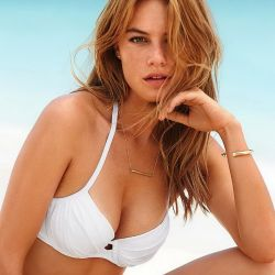 Camille Rowe sexy Victoria's Secret swimwear photo shoot 27x HQ