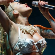 Rita Ora areola slip at V festival at Hylands Park 38x UHQ