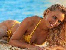 Caroline Wozniacki - Sports Illustrated Swimsuit 2017 see through tiny bikini 26x HQ photos