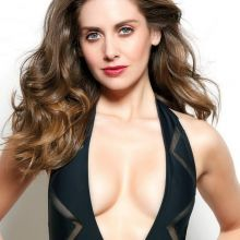 Alison Brie sexy GQ Mexico magazine 2015 March issue 11x HQ