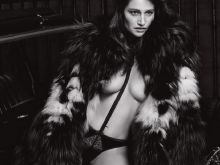 Marie Gillain nude Lui magazine 2015 February issue 11x HQ