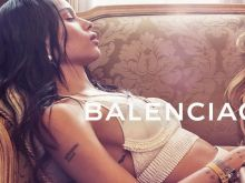 Zoe Kravitz, Anna Ewers sexy for Balenciaga 2016 Spring-Summer 5x HQ photos