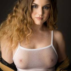 Jojo Levesque braless in see through top photoshoot for GQ magazine UHQ outtakes