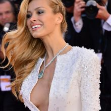 Petra Nemcova boobs slip on Youth premiere at the Cannes Film Festival 24x UHQ