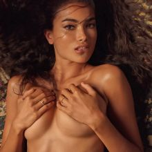 Kelly Gale topless for Chris Heads photo shoot 15x HQ photos