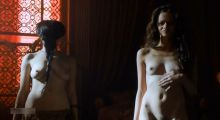 Emilia Clarke, Natalie Dormer, Carice Van Houten, etc - Game of Thrones S05 E01-04 sex scenes